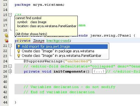 import image