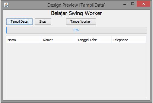Form Swing Worker